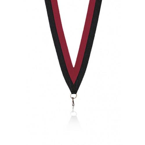 Medaljband Svart / röd