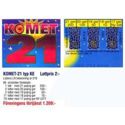 Komet 21 2kr